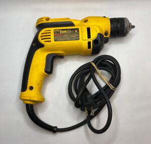 DEWALT DWD112 3/8 in. VSR Pistol Grip Drill, Wired, 8 Amp, 2500RPM