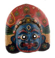 Grand Masque nepalais Mahakali Indra jatra Festival Papier mache Tibet 44cm 7321