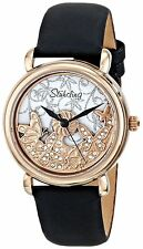 Stuhrling Original 715 03 Jezebel Swiss Quartz Butterfly Design Womens Watch
