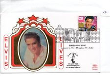 Elvis Presley (03) FDC - United States - 58th Anniv of birth - Benham cover