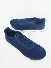 Adidas Boost Mens Size 13 Blue Lace Up Running Shoes Sneakers