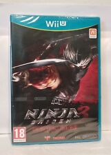 Jeu Nintendo WII U : Ninja gaiden 3 razor's edge PAL FR neuf sous blister