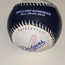 Los Angeles Dodgers Vs. New York Yankees Souvenir Baseball June 25-27, 2010