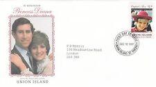 (02401) Union Island FDC Princess Diana Death 10 December 1997