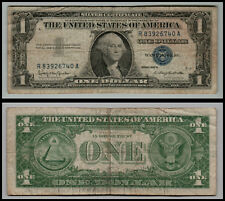 1957B $1 Silver Certificate Blue Seal Nice Circulated Lot-=-0153