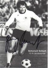 Originalautogramm - Georg Volkert (DFB Motiv)