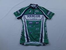 Womens Voler Webcor Builders Platinum Orbea Race Raglan Bike Cycling Jersey Sz S