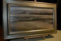 Douglas Fryer Winter Fields and Hawthorns Original Art 2014 Framed Oil Painting