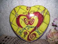 Brighton Tin Box Follow your Heart