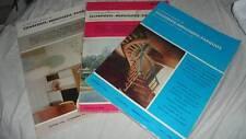 lot 3 volumes LE NOUVEAU JOURNAL DE CHARPENTE - MENUISERIE - PARQUET / H.VIAL