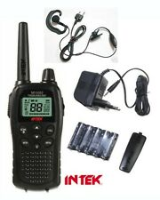 WALKIE TALKIE INTEK MT5050 WITH HEADSET 4W WITH SCRAMBLER AND VOX HANDS FREE