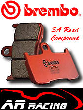 Brembo SA Sintered Road Front Brake Pads To Fit Ducati 748 R 2000