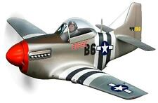 Vintage Ww2 P-51 Mustang Rolls Royce V-12 Merlin Wall Graphic Man Cave Decal