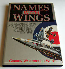 Aircraft - G. Wansbrough White - Names with Wings - ed. 1995