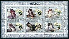 Mozambique  MNH Birds: African Wood Owl Ural Owl Little Owl  2007  x16334