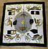 AUTHENTIC HERMES LES VOITURES A TRANSFORMATION SILK SCARF VINTAGE 1965
