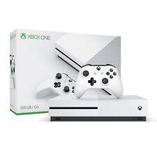 Microsoft Xbox One 1S 500GB Console, White, Excellent Condition, Full Warranty.