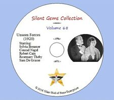 """DVD """"Unseen Forces"""" (1920) Sidney Franklin, S.Breamer,Conrad Nagel,Classic Drama"""