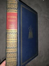 Wuthering Heights 1936 Art Type Edition # 30 Imprinted Emily Bronte Hardcover