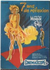 "CP affiche du film "" 7 ans de Réflexion "" Marilyn MONROE Tom EWELL Billy Wilder"