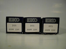 3 New EiKO Advantage DYS Overhead Projector LAMPS Blubs 120V 600W Photo DYV BHC
