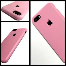 Apple iPhone 7 Original Silicone Rock Cover Case Slimmest Protective Tech 2 Pink