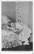 POSTCARD  ROYALTY   NETHERLANDS   Princess  Juliana