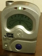 Qwik Tune Automatic Guitar or Bass Tuner Silver QT-11  No Batteries