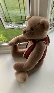 RARE DEANS RAG BOOK LARGE JOINTED GROWLER TEDDY NO1 OF ONLY 75 MR. WATSON