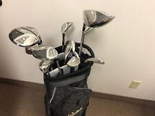 NEW Adams 2014 Idea Ladies Complete Golf Club Set w/ Cart Bag Black/Gold