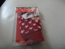 Hand warmer with knitted cover reusable