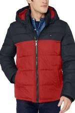 Tommy Hilfiger Classic Hooded Puffer Jacket Midnight/Red...