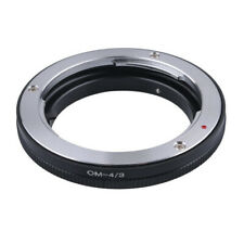 Lens Adapter Suit For Olympus OM Lens to Olympus 4/3 Four Thirds E-410 Camera
