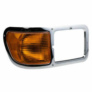 FIT FORD F650 F750 2000-2015 RIGHT HEADLIGHT BEZEL HEAD LIGHT TRIM SIGNAL CORNER