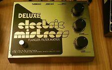 electro harmonix deluxe electric mistress vintage flanger pedal guitar