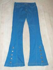 Womens Shoulder Jeans Flare 38 USA Size 6/8
