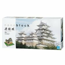 Kawada NB-006 nanoblock Japanese Himeji Castle Deluxe Edition