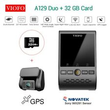 "Viofo A129 Duo Dual Channel 1080P 30FPS 2"" HD Wifi GPS DVR Recorder + 32G Card"