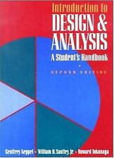 Introduction to Design and Analysis : A Student's Handbook by William H....