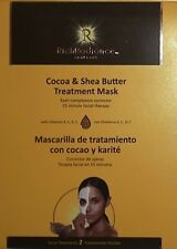 Rich Radiance Skin Brightening Facial Masks (2ct) Cocoa/Shea Butter B1040