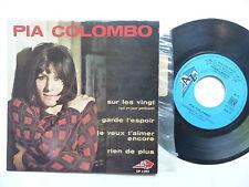 PIA COLOMBO Sur les vingt ... AZ EP 1092 ROY ORBISON  ESCUDERO