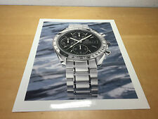 Press Release OMEGA SpeedMaster Automatic Date Steel - Technical Details