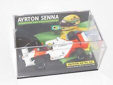 1/43 McLaren Honda MP4-3  Test Car 1987  Ayrton Senna   Senna Collection No.26