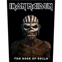 Iron Maiden Book Of Souls Jacket Back Patch Official Backpatch Heavy Metal New