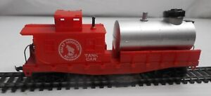 Life Like #8184 HO Scale Great Northern Action Tank Car train Track Cleaning Car