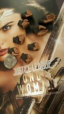 Hot Toys MMS451 Justice League  Wonder Woman 1/6 action figure's 8 hands only