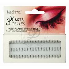 Technic Individual Eyelashes - False Fake Single 3 Sizes Volume Length Glue Inc