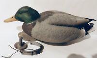Avery Greenhead Gear Mallard Drake Duck Decoy Signed Harold Roe Wildlife Artist