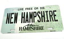 USA Auto Nummernschild License Plate Deko Blechschild New Hampshire Live Free or