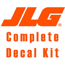 JLG E300AJ Boom Lift Decal Kit - SN Prior to 0300138358